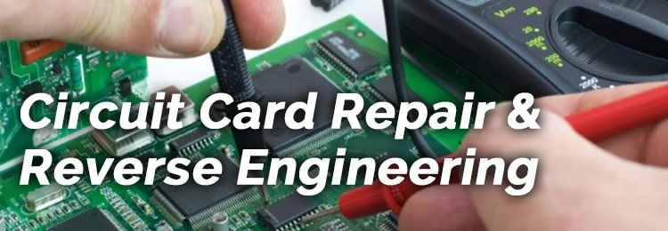 Circuit Card Repair & Reverse Engineering slide image